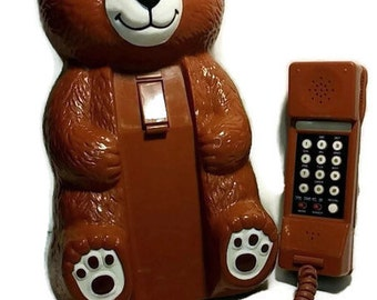 Teddy Bear Phone - Awesome Cute and Clean!