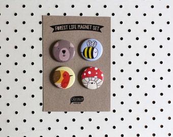 Forest Life - Magnet Set