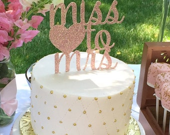 Bridal shower cake Etsy