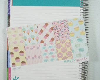 FBED0029 // Sweet Treats Full Box Planner Stickers