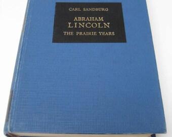 Abraham Lincoln: The Prairie Years. 1969 Mladinska Knjiga Hardback Illustrated. Carl Sandburg.