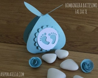 DIY baptism favor box Kit