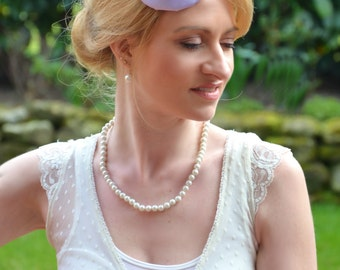 "Brautfascinator ""Color of Spring"" - lilac"