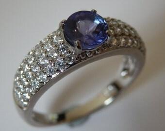 Tanzanite Dress Ring