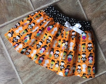 SALE, Girls Halloween Skirt, Halloween Party Skirt, Halloween Dress, Toddler Halloween, Baby Halloween, ONLY ONE Size 2T Available