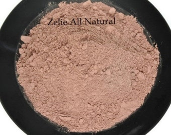 2 oz. Pink Kaolin Clay Powder - Rose Clay Face Mask - Natural Rose Clay for Facial Care.