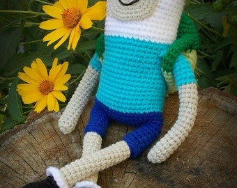 Finn the Human Crochet Toy
