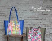 Everyday Tote - Bagstock Sewing Pattern, PDF sewing pattern