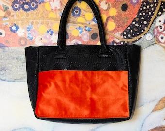 Tote bag DORAGON black/orange