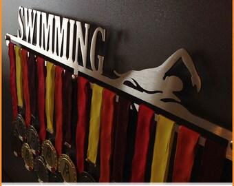 SWIMMING-Female | Medal Holder, Medal Hangers, Medals, medals, Medal Display Holder