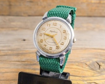 Vintage Kirovskie mens watch, vintage russian watch, mechanical watch, retro watch, soviet watch, ussr cccp womens watch
