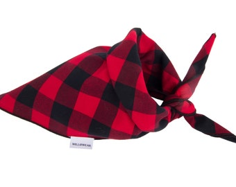 Dog Bandana, Buffalo Plaid Dog, Plaid Dog Bandana, Personalized Dog Bandana, Dog Collar, Dog Collars, Dog Scarf, Dog Bandanas, Dog Clothes