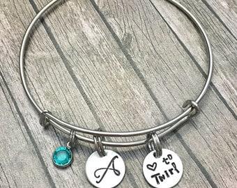 Majorette - Baton twirler - Marching band - Baton - Personalized - Majorette charm - Majorette jewelry - Bracelet