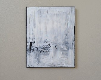 White and Grey Abstract 2