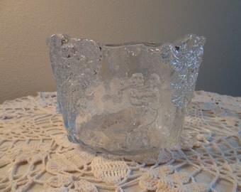 Pressed Glass Bowl