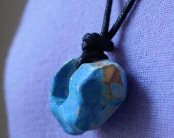 Contemporary ceramic necklace