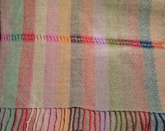 Wool Hand Woven Zapoteco Shawl