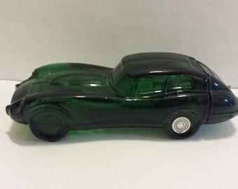 Vintage Avon Jaguar Car Decanter, Wild Country After Shave, Collectable Bottles  #4