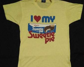 vintage 80s tshirt 50/50 cotton polyester