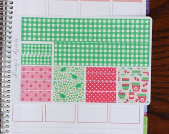 Strawberry Pickings Washi ( Planner Stickers)