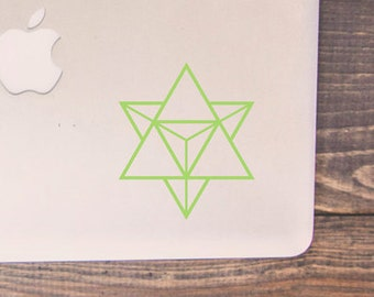 Merkaba - Star Tetrahedron - Sacred Geometry Decal-Small