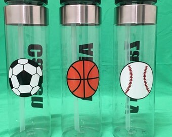 Personalized water bottles, Custom water bottles, BPA free water bottles, Party favors, party favor water bottles, sport water bottles