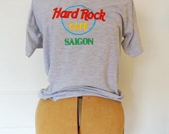 Hard Rock Cafe Saigon grey tee