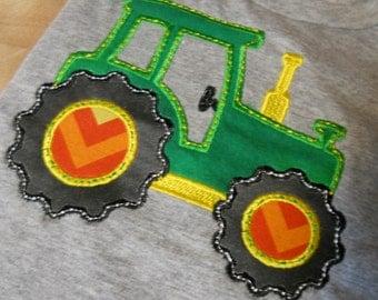 Green Tractor Shirt