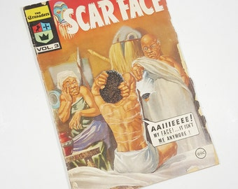 """Vintage Comic Book """"Scarface"""", The Crusaders Volume 3."""