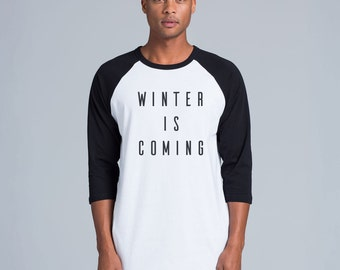 Game of Thrones TShirt Winter is coming TShirt - Winter is coming !