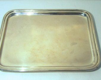 Silver platter (plated silver)