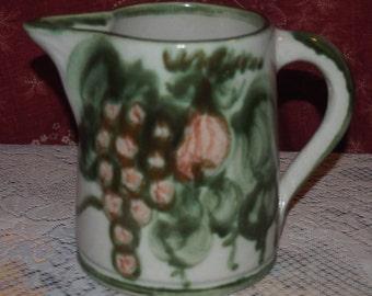 John B. Taylor Ceramic Harvest Pitcher