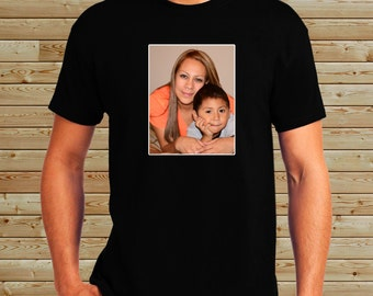 Personalized Custom Picture Shirt - Family Photos - Custom Design Tee - Picture T-Shirt - Your Team