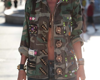 Military Army Jacket
