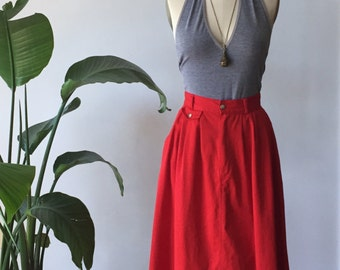 late 70's vintage maxi skirt