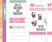 Munchkins - YouTube Binge Planner Stickers (M153)