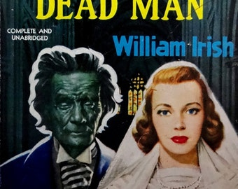 pulp art print I Married a Dead Man —  vintage pulp paperback cover repro