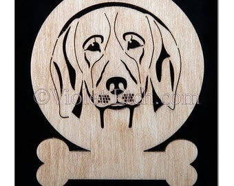 Beagle Ornament-Beagle Gift-Free Personalization