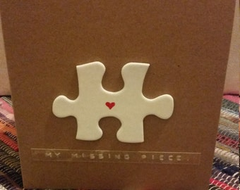 My Missing Piece Card