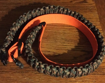 how to make a paracord rifle sling cobra