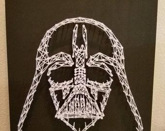 String Art, Star Wars, Darth Vader, Wall Decor