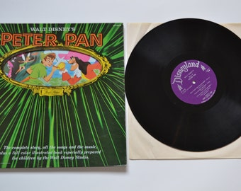 1960 WALT DISNEY PETER Pan Magic Mirror Children Record