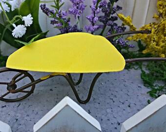 Miniature Wheelbarrow - Summer Yellow