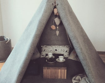 woolen kids teepee from bubble shelter - SPECIAL OFFER-play tent-teepee for kids-teepee tent-kid teepee-teepee kids-childrens teepee