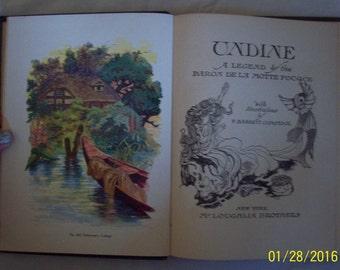 1911 edition Undine by Rackham