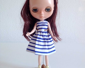 Sailor dress for Blythe