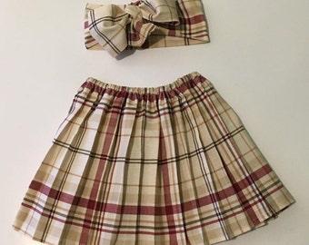 The Prepster skirt set