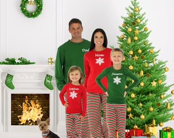 Family christmas pajamas | Etsy