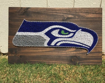 MADE TO ORDER Seattle Seahawks String Art Board