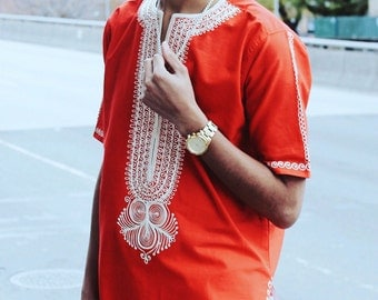 red embroidered top by Alaro